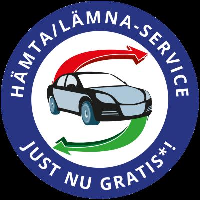 Hämta/lämna-bilservice gratis just nu