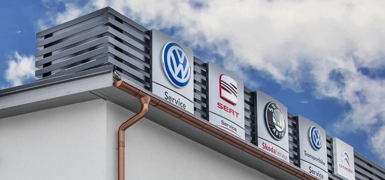 Märkesverkstad - auktoriserad bilverkstad 11 bilmärken